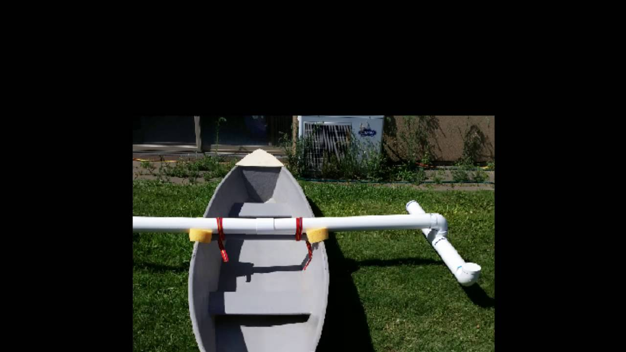 Pvc stabilizers for a canoe funnydog tv for Motor age training connect