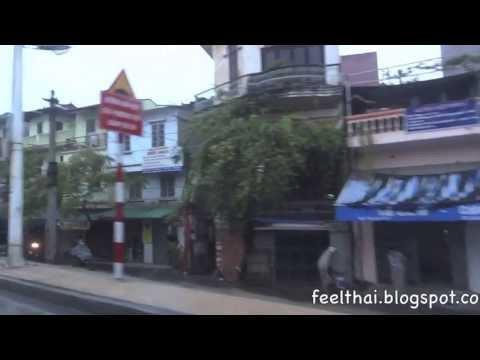 นั่งรถแท็กซี่ไปสนามบินฮานอย Hanoi street life   to Noi Bai Airport