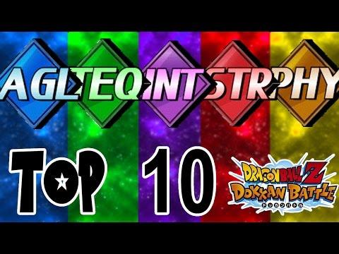 TOP 10 UNITS IN DOKKAN BATTLE! (GLOBAL EDITION) | DBZ Dokkan Battle