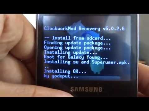How to Root and Unroot Samsung Galaxy Y Pro Duos!!!!!!!!  It Works!!!!