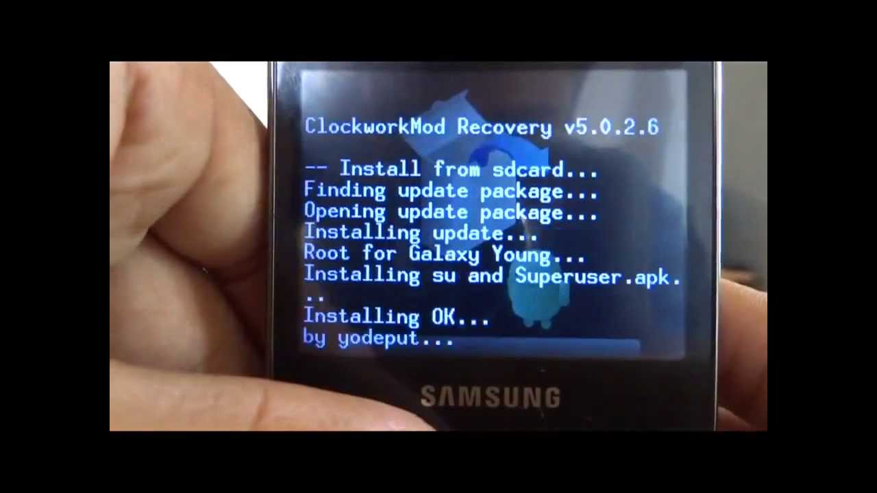 How To Root And Unroot Samsung Galaxy Y Pro Duos!!!!!!!! It Works!