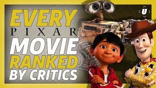 Every Pixar Movie Ranked By Critics
