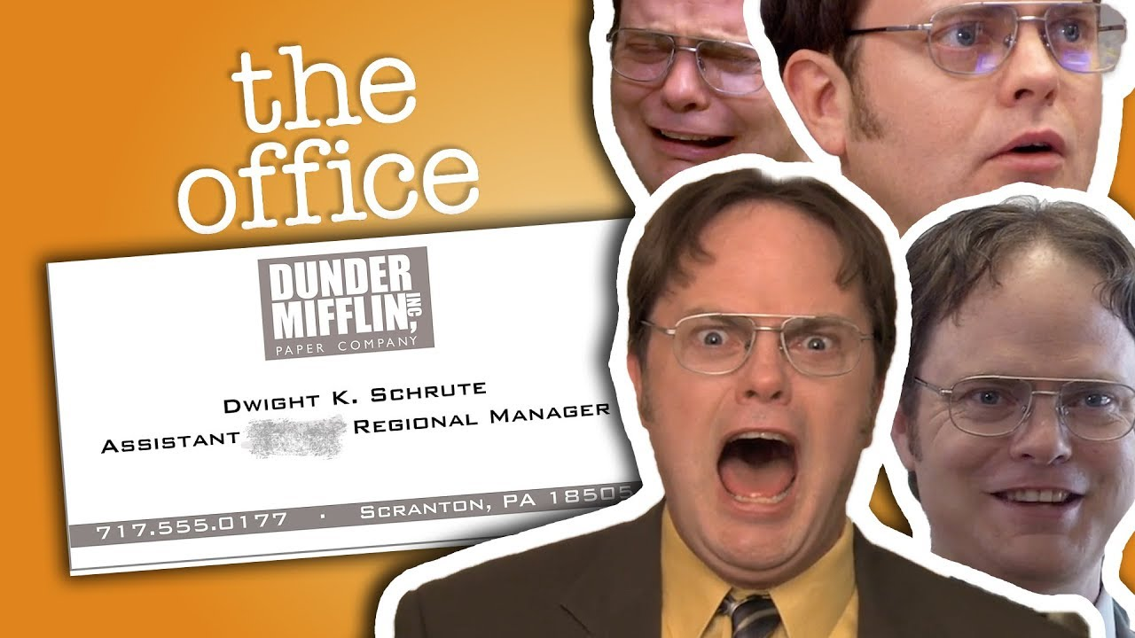 Dwight Schrute Assistant To The Regional Manager The Office Us