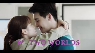 Video W - Two Worlds Lee Jong-Suk and Han Hyo-Joo hot kiss download MP3, 3GP, MP4, WEBM, AVI, FLV April 2018