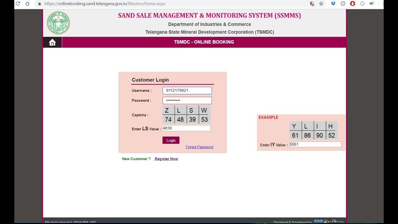 Captcha solver auto - Newest SSMMS Fastly auto filling captcha with  extension site sand telangana