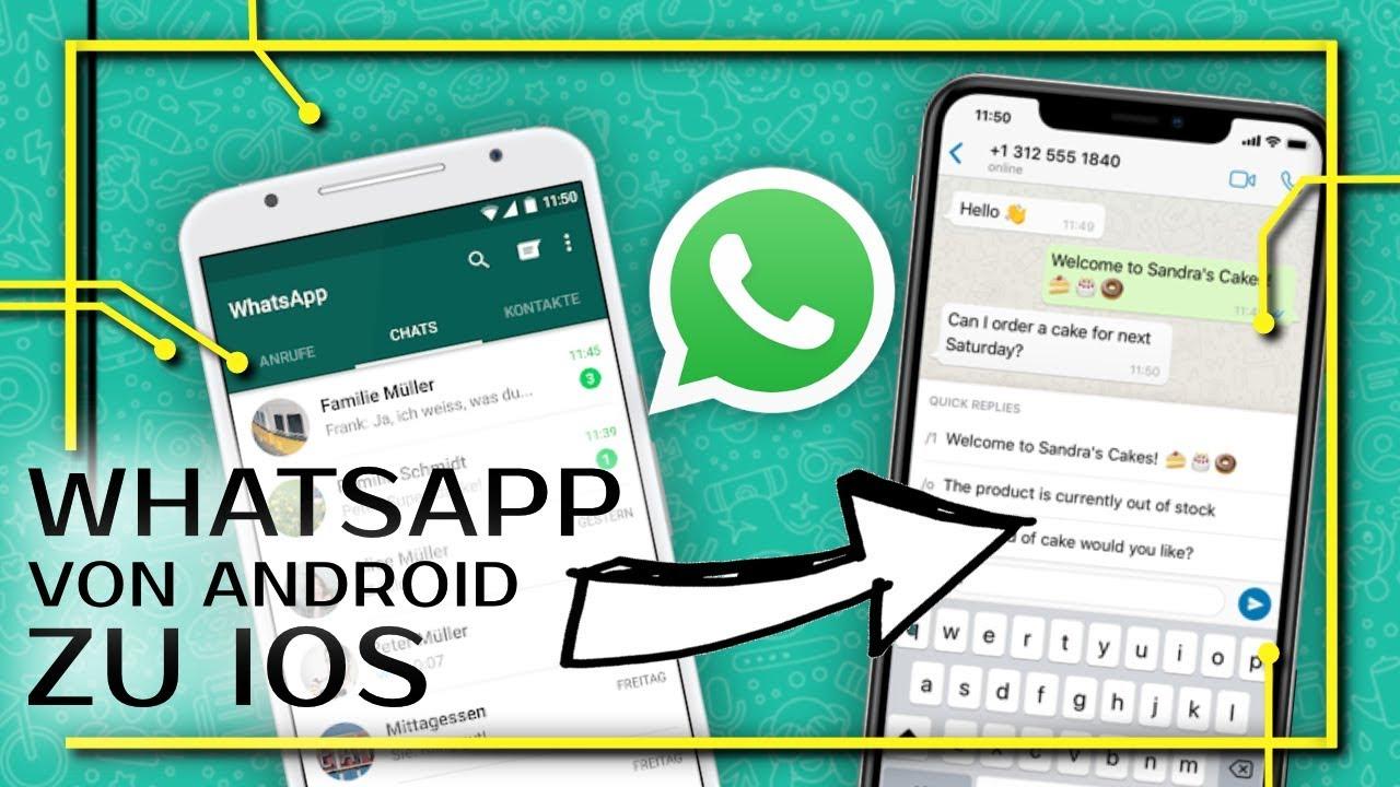 Android Zu Ios Whatsapp