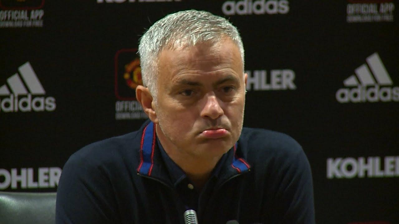"Mourinho says ""manhunt"" against him affecting United players"
