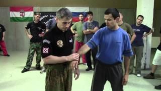 Болевые приемы(Инструктор Денис Ряузов провел семинар в Будапеште в 2012 г. На семинаре демонстрировалась техника ножевого..., 2013-09-21T18:22:55.000Z)