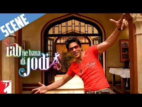Scene: Rab Ne Bana Di Jodi | I am Taani's Hero and my name is Raj | Shah Rukh Khan | Anushka Sharma