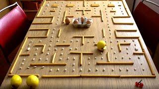 Pac Man Fruit - Stop Motion