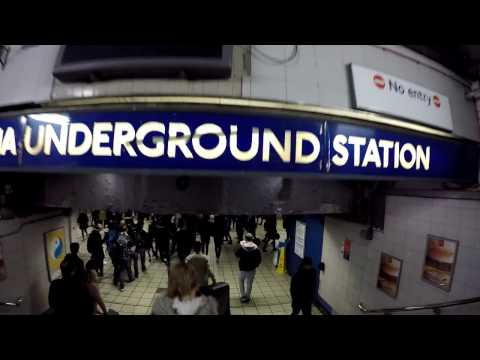 First Trip on London Underground (Victoria Station to Green Park)