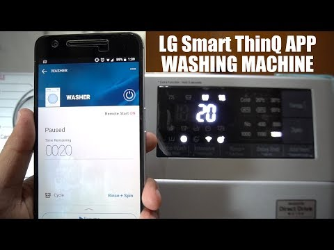 lg-smart-thinq-app-setup-&-demo---front-load-washing-machine