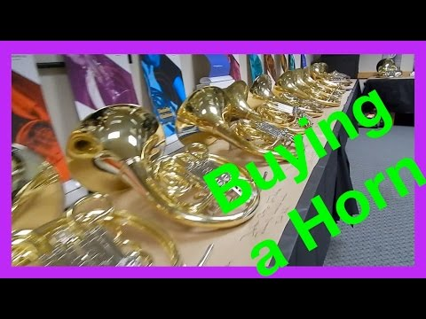 📯Where to buy a French Horn // FhornPatrick
