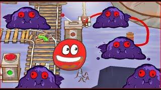 - Красный Шарик попал в МИР СТИКМЕНА ЧЕРНИЛЬНЫЙ КВАДРАТ Игра шарика в Stickman EPIC 2 in Red Ball 4