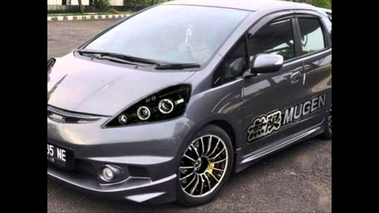 Amazing Honda Jazz Modification!! For Contest & With Style!!