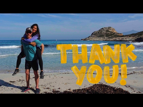 SEASON FINALE:  Vlog #25 - Hiking Tour In Corsica, France - (Travel Corsica By Foot)