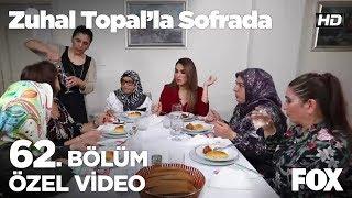 Sofrada aşçılık belgesi konuşuldu...  Zuhal Topal'la Sofrada 62. Bölüm