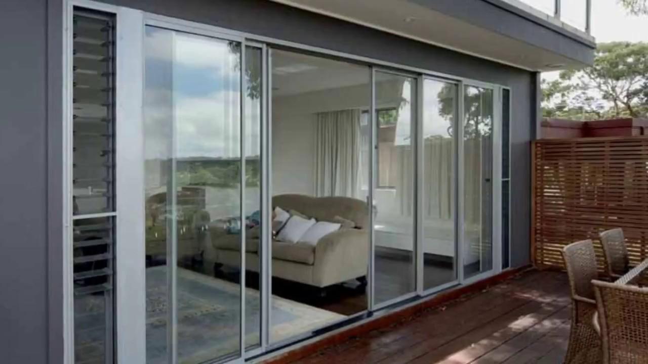 Aluminium windows and doors designs youtube for Aluminium windows and doors