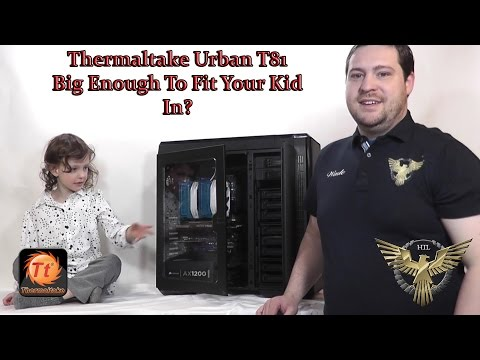 Massive Thermaltake Urban T81 Tower Overview With Benchmarks