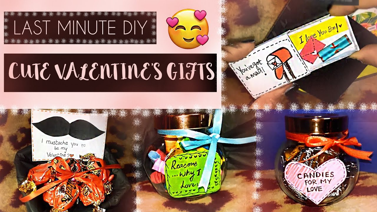 Last Minute Cute Valentine Gift Ideas For Him Her Youtube