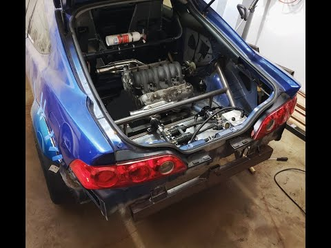 See This Twin-Engined Acura RSX With LS4 V8 Front And Back