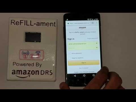 Amazon DRS Developer Challenge - Hackster Contest - Setting up ReFILL-ament