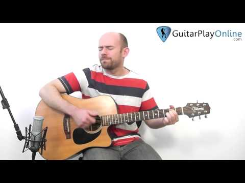 how to play the thrill is gone on acoustic guitar