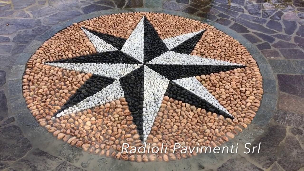 Mosaico Come Si Realizza radioli pavimenti - come si costruisce un mosaico in ciottoli per  pavimentazione esterna
