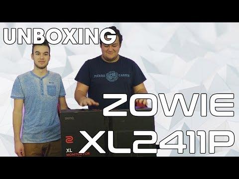 Колко лесно е да се сглоби Zowie XL2411P? - Unboxing