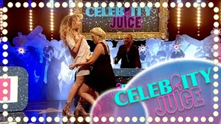 Repeat youtube video Holly and Ella Sandwich Anyone? | Celebrity Juice | Series 15