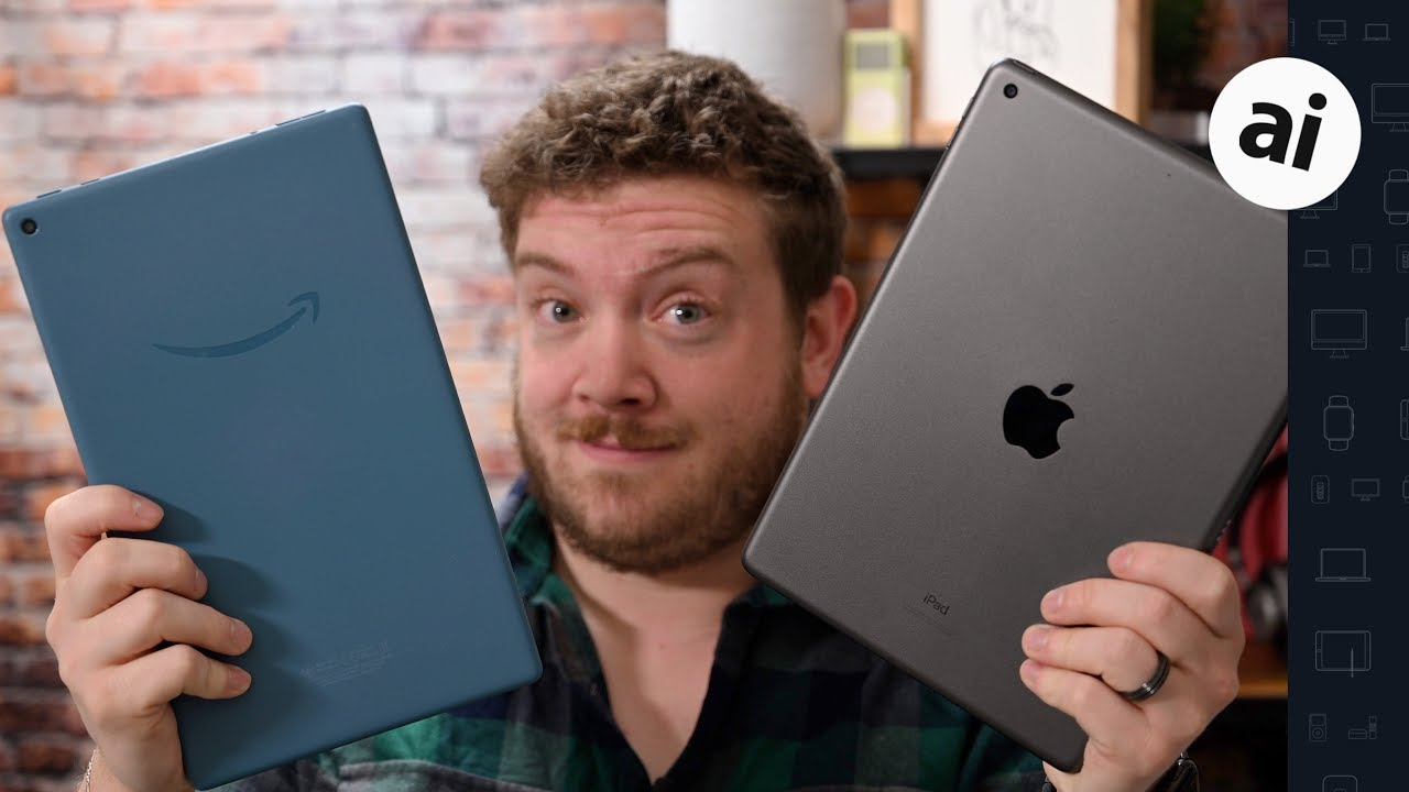 Compared: iPad 10.2-Inch VS Fire HD 10 2019!