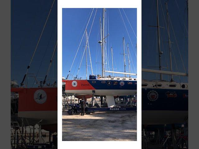 Atlantic Rebirth - Janvier 2021: la préparation et la mise à l'eau du bateau