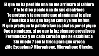 Redimi2 feat. Alex(En El Microfono)Video Karaoke La letra: