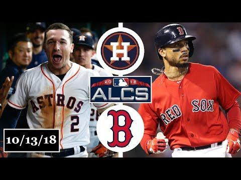 Houston Astros vs Boston Red Sox Highlights || ALCS Game 1 || October 13, 2018