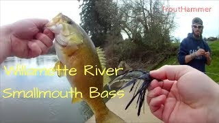 Smallmouth Bass Fishing the Willamette River with Austin Zuschlag