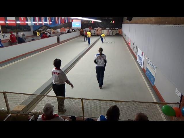 Четвертьфинал в Инсбруке: Екатерина Ерасова (Россия) против швейцарки