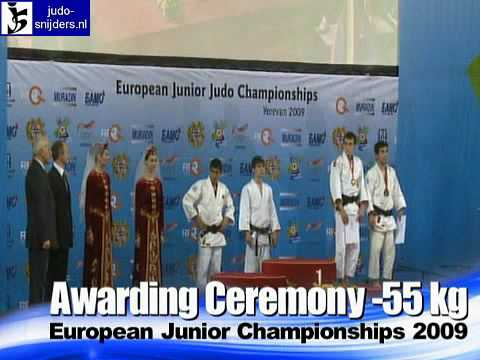 Judo 2009 Yerevan: Awarding [-55kg].