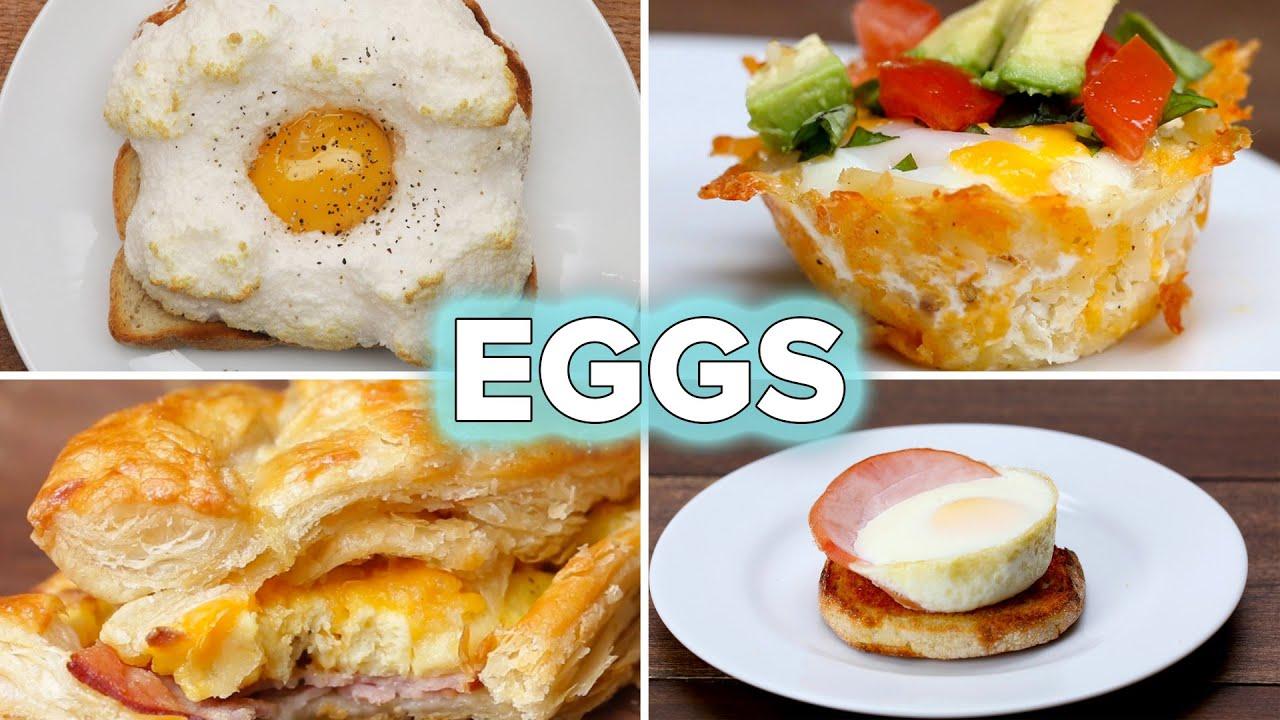 5 Egg Recipes For Breakfast Lovers • Tasty - YouTube