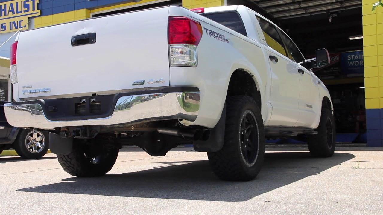 2011 toyota tundra exhaust borla duals