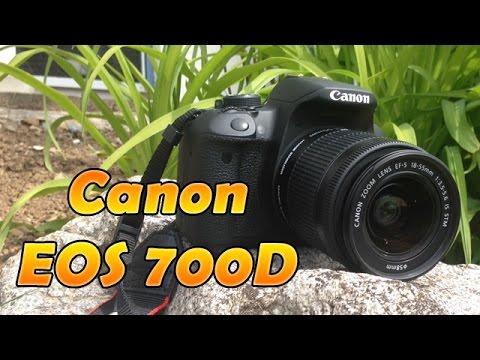 Canon EOS 700D Unboxing + kleines Review | HD Deutsch 1080p