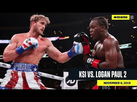 FULL FIGHT   KSI vs. Logan Paul 2 (DAZN REWIND)