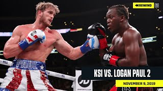 FULL FIGHT | KSI vs. Logan Paul 2 (DAZN REWIND)