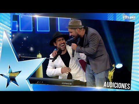 Este dúo de hermanos emocionó con una balada de AEROSMITH