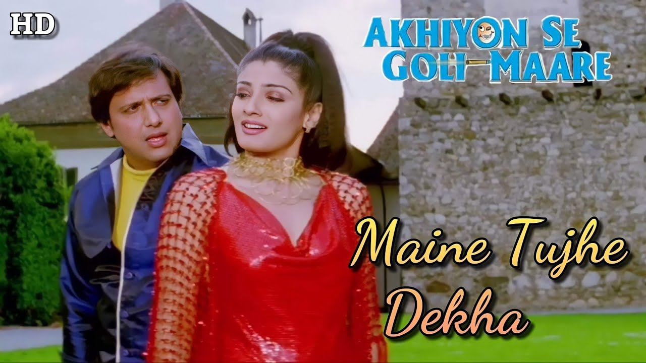 Download Maine Tujhe Dekha - Akhiyon Se Goli Maare (2002) Full Video Song *HD* (1080p)