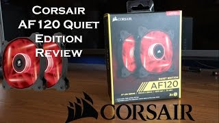 corsair af120 quiet edition short review