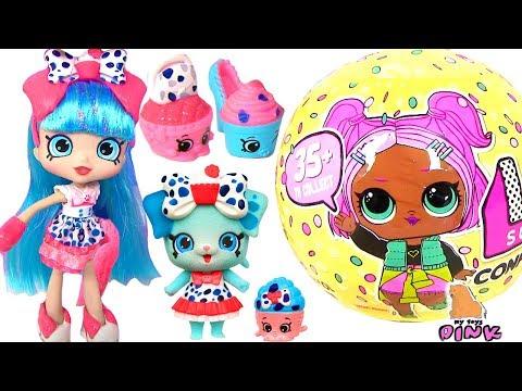 ПЛЕМЯ ШОПКИНС МЕНЯЮЩИЕ ЦВЕТ - КУКЛА ЛОЛ! ШОПКИНС МУЛЬТИК НА РУССКОМ | My Toys Pink