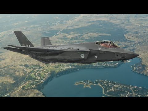 Volledige livestream: F-35 landt in Nederland!