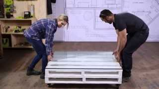 Jo + Damo - Pallet Coffee Table