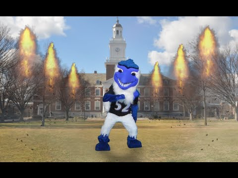 6b816f1c3344 Johns Hopkins Blue Jay Does the Ray Lewis Dance! - YouTube