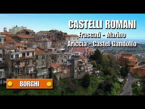 CASTELLI ROMANI - Frascati - Marino - Ariccia - Castel Gandolfo